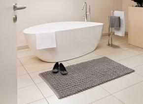 Коврики для ванной комнаты.  Хлопковый коврик для ванной комнаты TRESS
