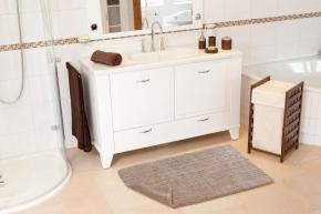 Коврики для ванной комнаты.  Хлопковый коврик для ванной комнаты CUTLOOP двухсторонний