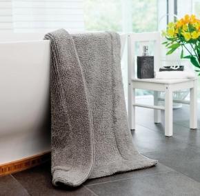 .  Хлопковый коврик для ванной комнаты Duo Flor двухсторонний