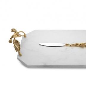 Разделочные доски. Доска для сыра с ножом 48 см «Зачарованный сад»