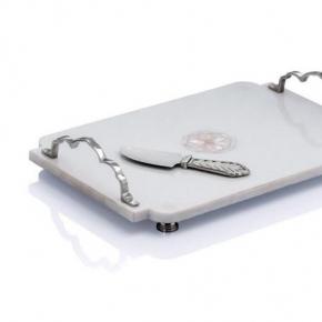 Разделочные доски. Доска с ножом 38 см «Дворец»