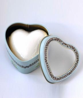 Luxury Гель для душа Мыло. Мыло Ландыш из коллекции «Большие сердца» от Le Blanc