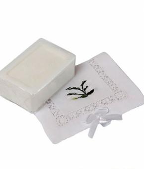 Luxury Гель для душа Мыло. Мыло ароматизированное Ландыш от Le Blanc