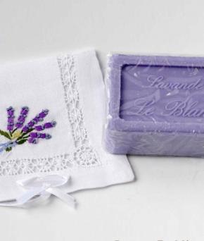 Luxury Гель для душа Мыло. Мыло ароматизированное Лаванда от Le Blanc