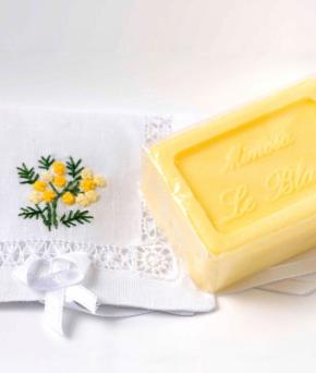 Luxury Гель для душа Мыло. Мыло ароматизированное Мимоза от Le Blanc
