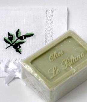 Luxury Гель для душа Мыло. Мыло ароматизированное Оливки от Le Blanc