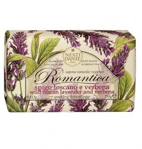 Luxury Гель для душа Мыло. Nesti Dante Tuscan Lavender and Verbena Romantica Мыло Тосканская лаванда Вербена 250 гр