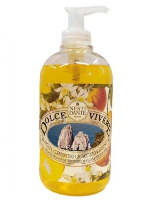 Luxury Гель для душа Мыло. Nesti Dante Dolce Vivere Capri Жидкое мыло Капри 500 мл