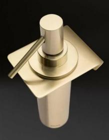 . Аксессуары для ванной настенные Heritage дозатор матовый золотой