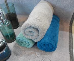 Полотенца хлопковые. Полотенца хлопковые EXCELLENCE Nicol Серые Морской волны Голубые