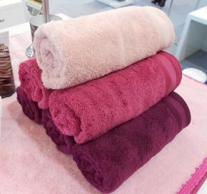 Полотенца хлопковые. Полотенца хлопковые EXCELLENCE Nicol Розовые Малиновые Сиреневые