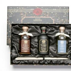 . Подарочный набор диффузоров из трех ароматов по 100 мл Черная коробка