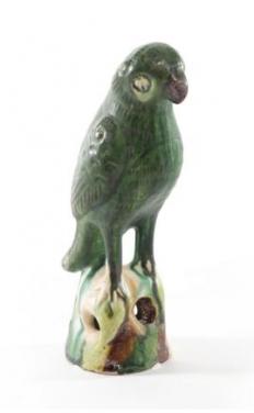 Предметы декора Deluxe. Попугай керамический