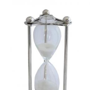 Аксессуары для кабинета Deluxe. Часы песочные серебряные