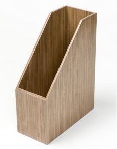. Wood Collection аксессуары для рабочего стола накопитель для бумаг деревянный Орех