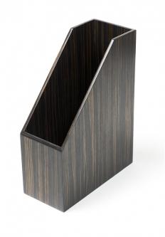 . Wood Collection аксессуары для рабочего стола накопитель для бумаг Эбеновое дерево