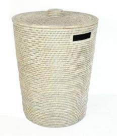Корзины для белья. Раттан Rattan корзина для белья плетёная хранения с крышкой натуральный светлый