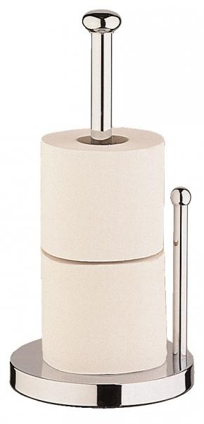 Стойки напольные с бумагодержателем, полотенцедержателем, ёршиком и высокие. STAN Nicol напольный держатель для запасных рулонов бумаги