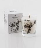 Ароматические свечи Парфюм для дома Диффузоры. Свеча в цилиндрическом стакане Белый Нарцисс  в подарочной коробке от Stone Glow Art. 3154