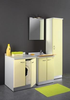 Итальянские постирочные раковины Мебель и оборудование для постирочной комнаты. Vella Мебель для постирочной комнаты тумба с дверками для встраивания стиральной машины