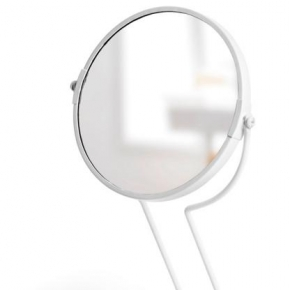 . Зеркало настольное See me белое