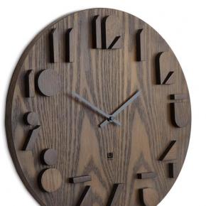 . Часы настенные SHADOW орех