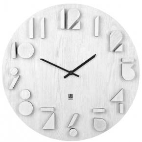 . Часы настенные SHADOW белый