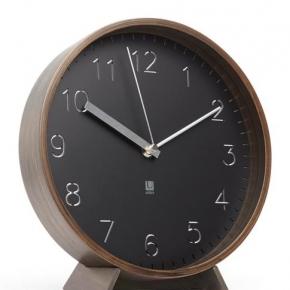 Часы. Часы настенные/настольные Rimwood орех