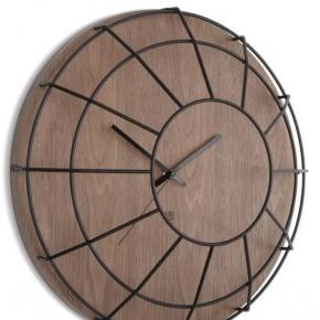 Часы. Настенные часы Cage черные