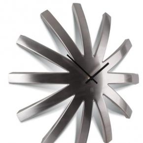 Часы. Часы настенные Burst никель