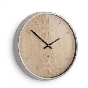 Часы. Настенные часы Madera светлое дерево