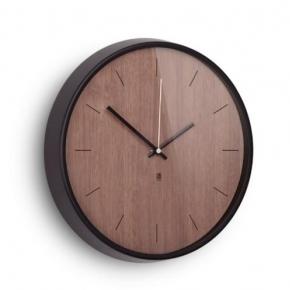 Часы. Настенные часы Madera тёмное дерево