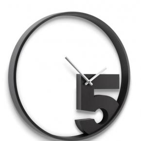 . Часы настенные Take 5 черные