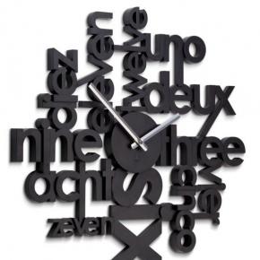 Часы. Часы настенные Lingua черные