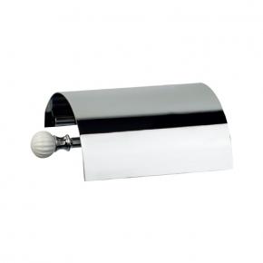 Аксессуары для ванной настенные. Аксессуары для ванной Venezia бумагодержатель с крышкой