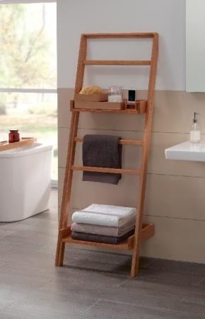 Этажерки для ванной. Villeroy&Boch Oak Stool деревянная этажерка приставная стойка с полками Дуб