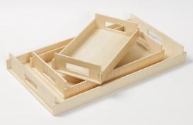 Аксессуары и Мебель для дома. Wood Collection лоток поднос деревянный Сикамор