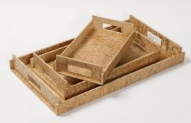 Аксессуары и Мебель для дома. Wood Collection лоток поднос деревянный Ясень
