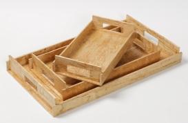 Аксессуары и Мебель для дома. Wood Collection лоток поднос деревянный Карельская берёза