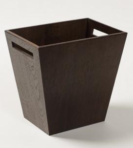 . Wood Collection ведро деревянное Дуб тёмный
