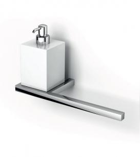 Аксессуары для ванной настенные. Настенные аксессуары для ванной керамические белые Дозатор с бумагодержателем