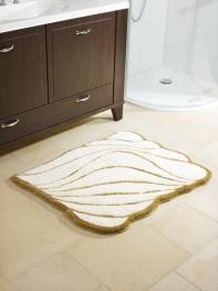 Коврики для ванной комнаты. Коврик для ванной комнаты Nicol Yasmin Gold
