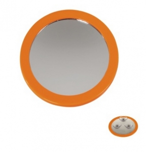 Зеркала косметические с подсветкой увеличением настенные настольные Зеркала с присосками. Nelly Nicol зеркало косметическое с увеличением 1х5 настенное с присосками Оранжевое