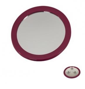 Зеркала косметические с подсветкой увеличением настенные настольные Зеркала с присосками. Nelly Nicol зеркало косметическое с увеличением 1х5 настенное с присосками Малиновое