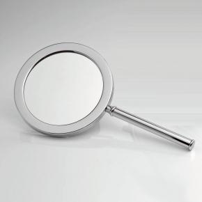 Зеркала косметические с подсветкой увеличением настенные настольные Зеркала с присосками. Ручное зеркало косметическое с увеличением 1х1 и 1х3 двухстороннее