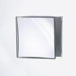 Зеркала косметические с подсветкой увеличением настенные настольные Зеркала с присосками. Квадратное зеркало с присоской косметическое с увеличением 1х5 и 1х8
