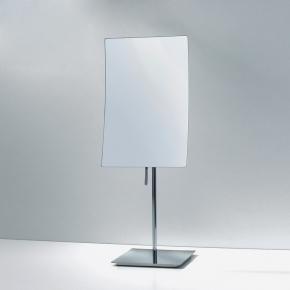 Зеркала косметические с подсветкой увеличением настенные настольные Зеркала с присосками. Прямоугольное настольное зеркало косметическое с увеличением 1х3
