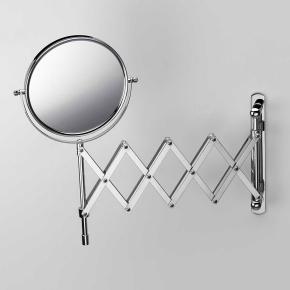 Зеркала косметические с подсветкой увеличением настенные настольные Зеркала с присосками. Зеркало косметическое настенное с увеличением 1х1, 1х5 или 1х8 двухстороннее шарнир Гармошка двойная