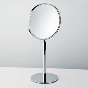 Зеркала косметические с подсветкой увеличением настенные настольные Зеркала с присосками. Настольное косметическое зеркало двухстороннее с увеличением 1х4 и 1х1