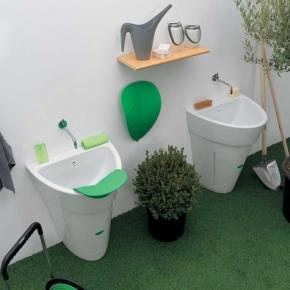 Итальянские постирочные раковины Мебель и оборудование для постирочной комнаты. Постирочная раковина итальянская POT COLAVENE Универсальная